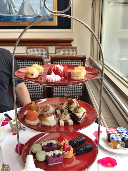 Tea curate at Rowes Wharf Sea Grille