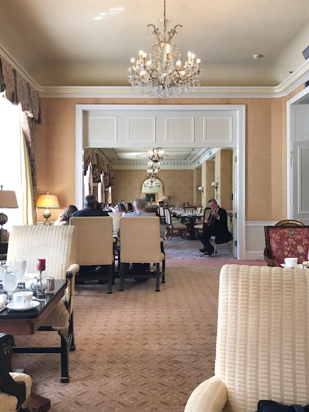 tearooms at Taj Boston