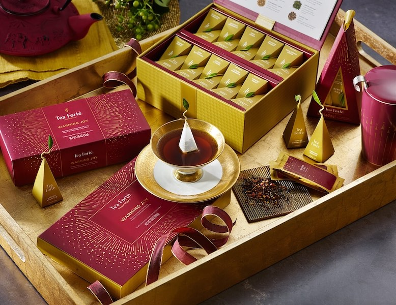 tea forte Christmas collection