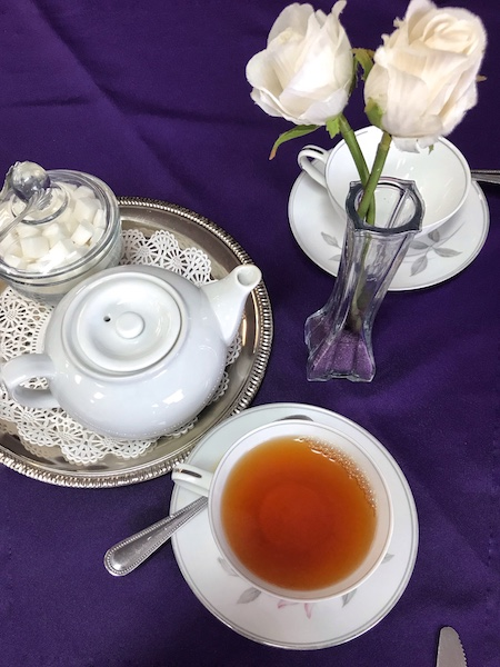 Tea is served at British Pantry & Tearoom in Centerville, GA