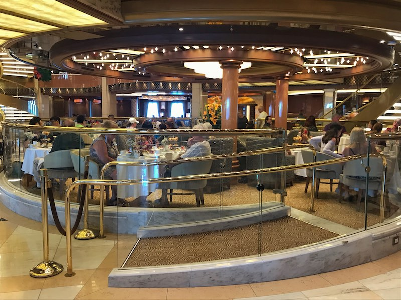 International Piazza on Regal Princess for Royal Afternoon Tea
