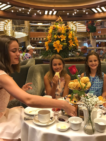 tea on Regal Princess Cruise