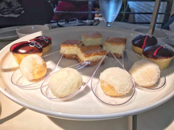 bistro VG tea desserts