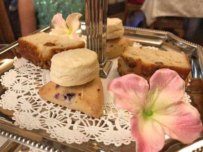 Hearts Desire Tea Room cream cheese scones