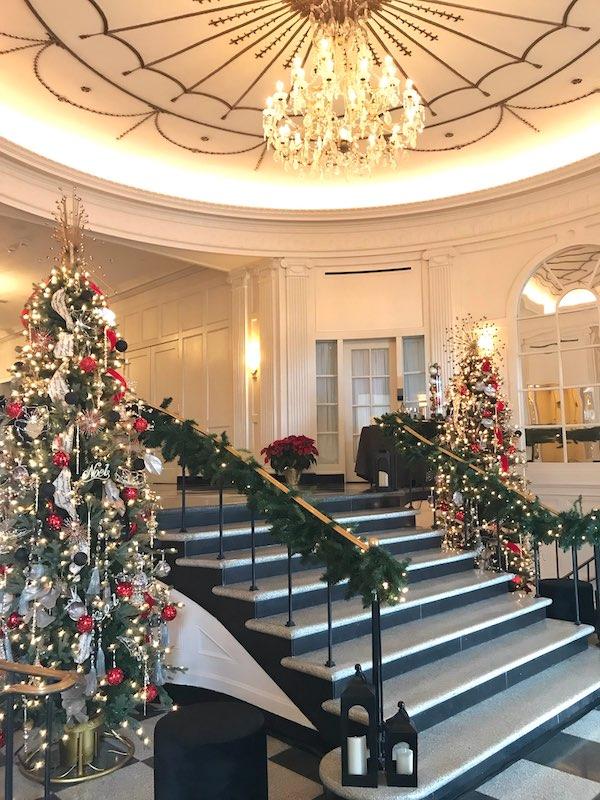 Foyer of The Cavalier Hotel, VA