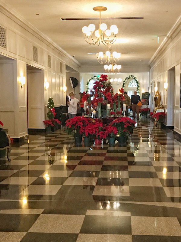 Entering The Cavalier Hotel, Virginia Beach