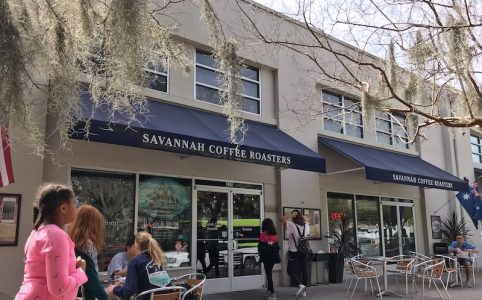 Exterior Savannah Coffee Roasters