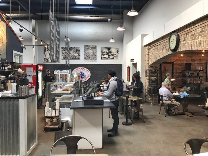 Interior Savannah Coffee Roasters