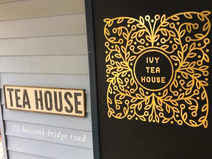 Ivy Tea House logo in Norcross, GA