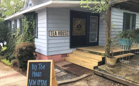Exterior of Ivy Tea House in Norcross