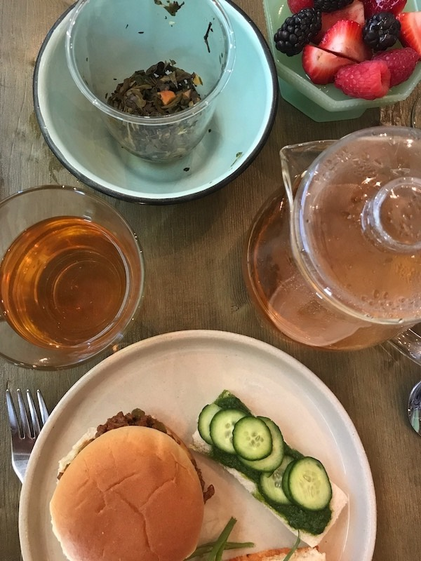 Steeped tea at The Third Space in Atlanta, GA