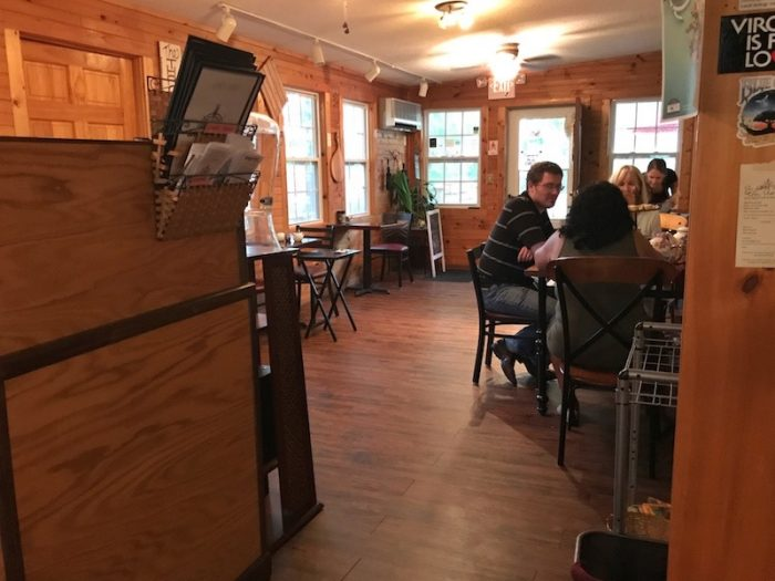 Inside Ivory Road Cafe & Kitchen in Arden, NC