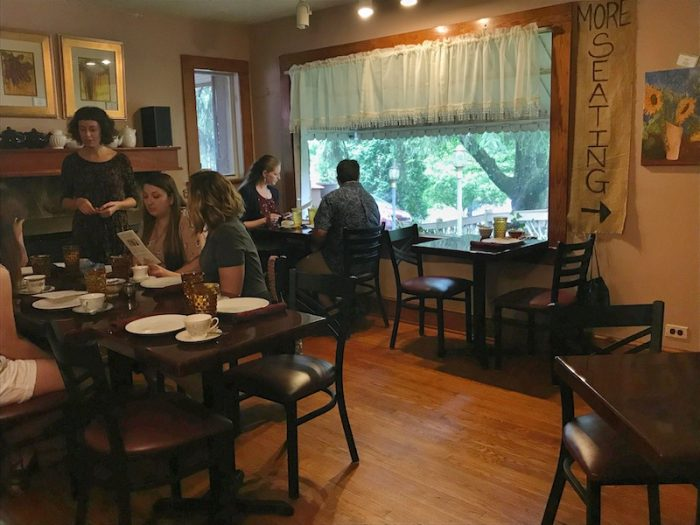 Inside the Ivory Road Cafe & Kitchen in Arden, NC