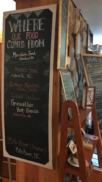 local vendors at Ivory Road Cafe & Kitchen in Arden, NC