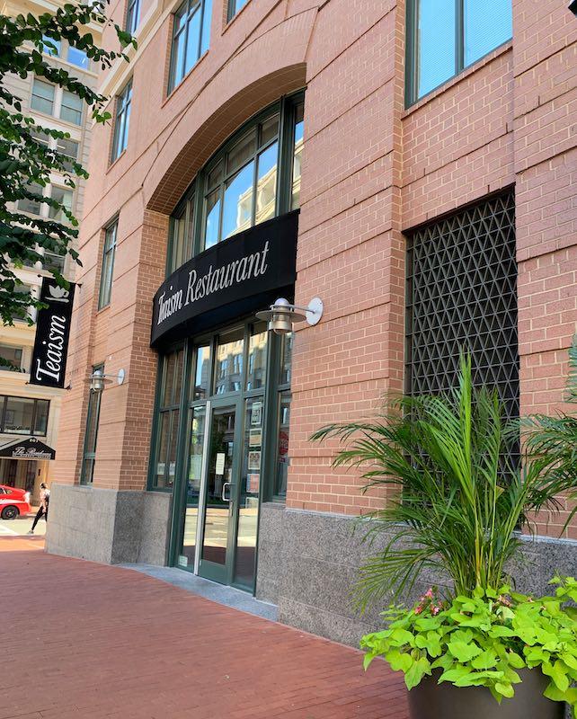 exterior Teaism Penn Quarter