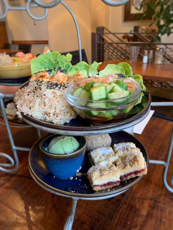Japanese afternoon tea at Teaism Penn Quarter in Washington, DC