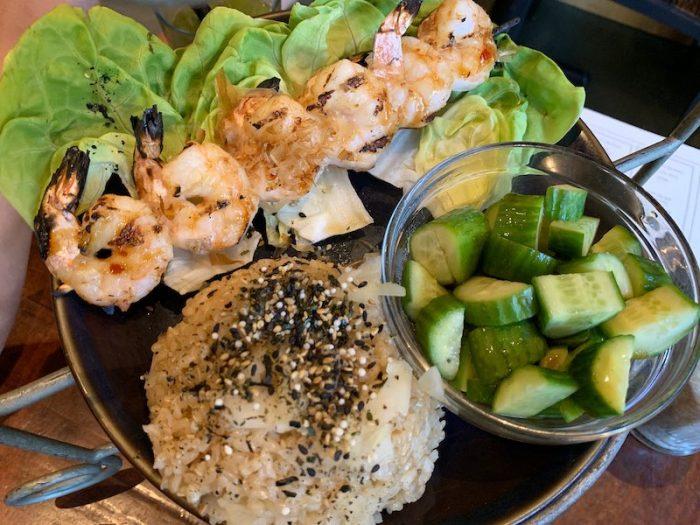 Savories at Japanese Afternoon Tea at Teaism Penn Quarter.