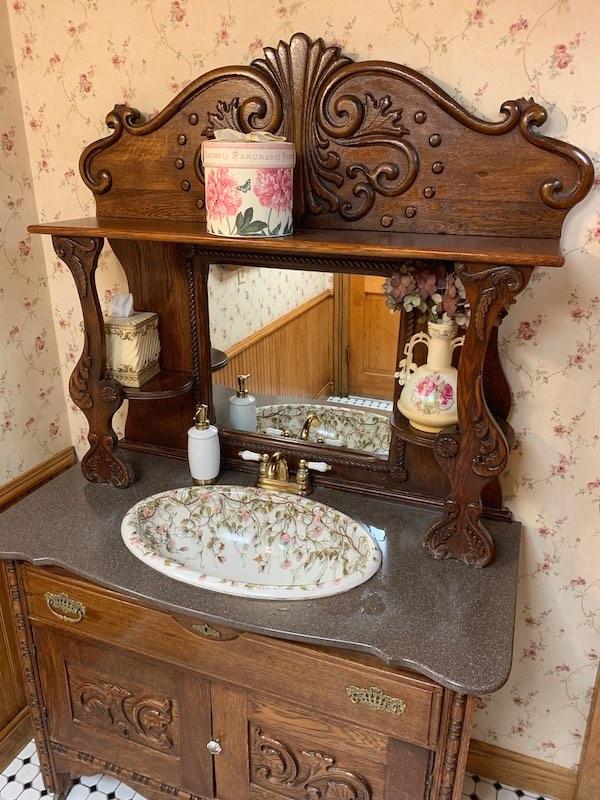 sink vanity at Boardwalk Plaza Hotel in Rehoboth Beach, DE