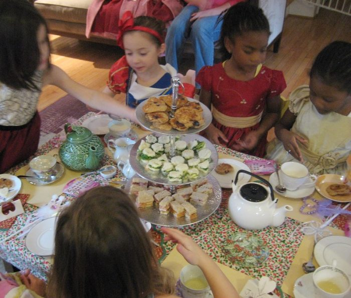 kids' tea party
