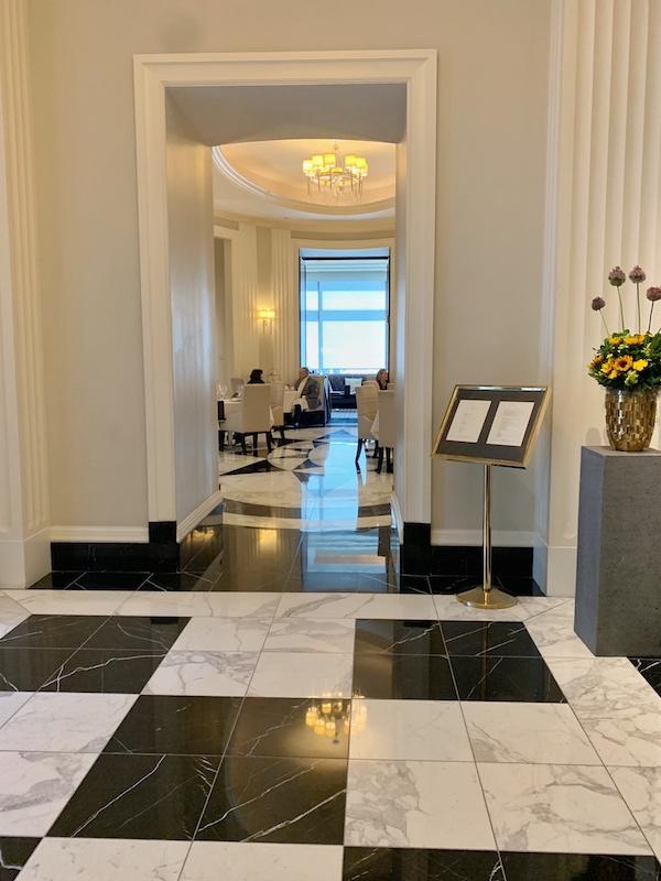 lobby for afternoon tea at Waldorf Astoria Atlanta Buckhead, GA