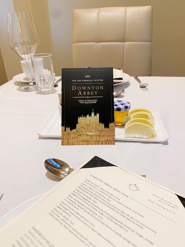 afternoon tea at Waldorf Astoria Atlanta Buckhead, GA