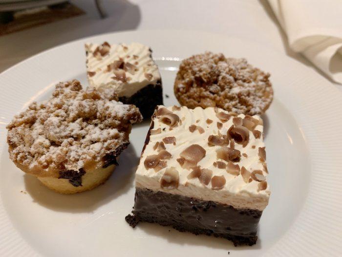 dessert at afternoon tea at Waldorf Astoria Atlanta Buckhead, GA