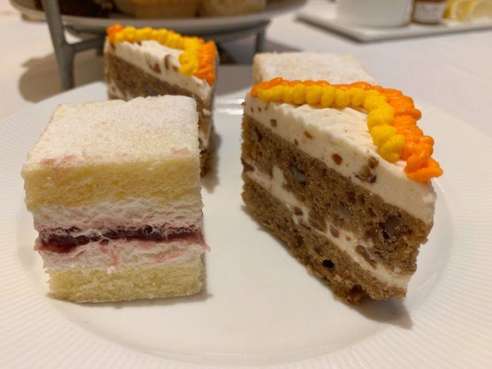 tea cakes at afternoon tea at Waldorf Astoria Atlanta Buckhead, GA