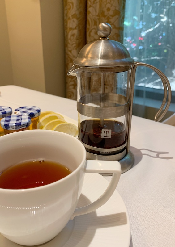 teas at Waldorf Astoria Atlanta Buckhead, GA