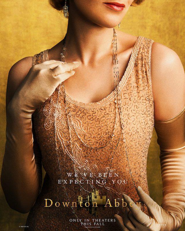 Lady Edith of Downton Abbey 2019 film