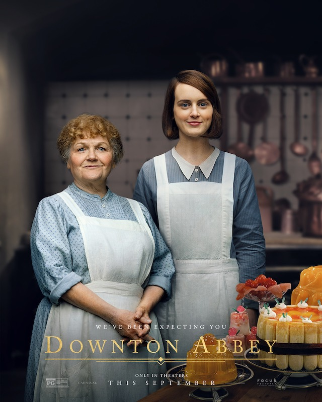 The Cook staff at Downton Abbey 2019 film