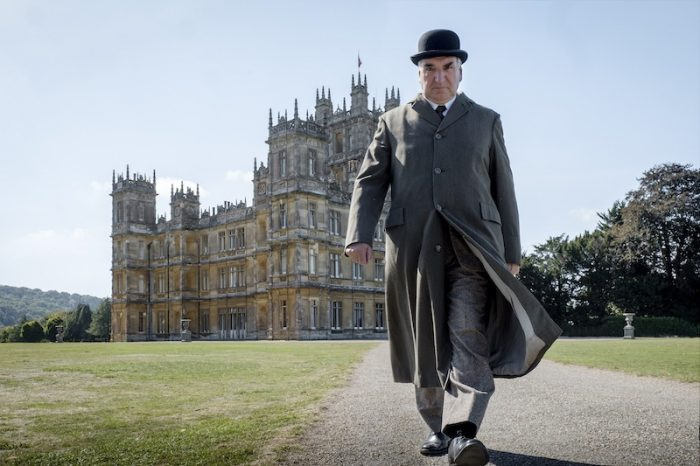 Downton Abbey 2019 Film exterior with Jim Carter