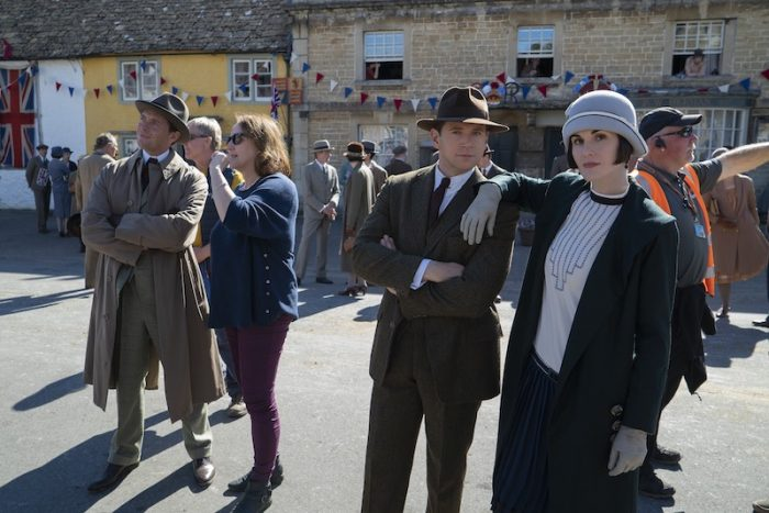 Behind the scenes at Downton Abbey 2019 film