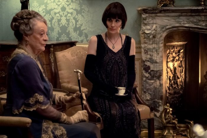 Lady Mary and Violet Crawley of Downton Abbey 2019 Film