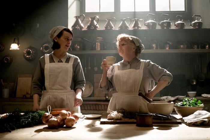 Downton Abbey 2019 Film patmore tea