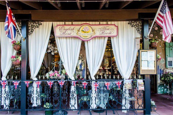 English Rose Tea Room in Carefree, Arizona