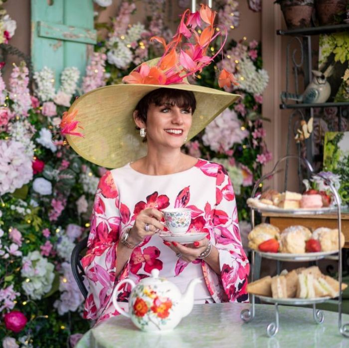 Owner of The English Rose Tea Room, Jo Gemmill