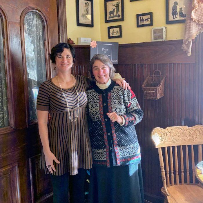 meeting Jennifer Stowe of Three Sisters Tearoom in Campbellsville, TN