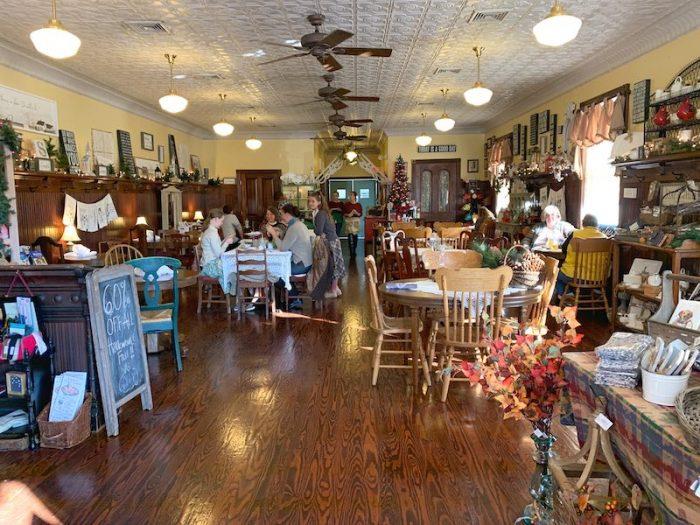 interior Burdett's Tea Shop and Trading Company in Springfield, TN