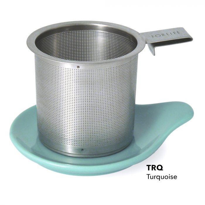 forlife hook handle tea infuser with dish