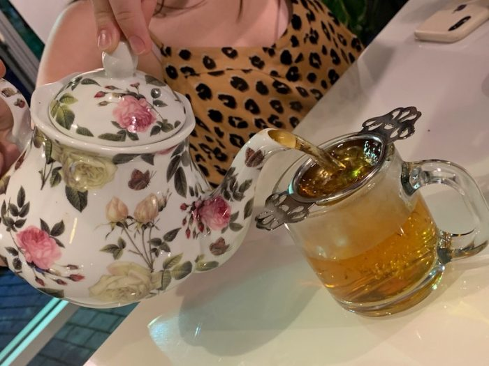 loose leaf tea Bubble & Co. Tea Bar afternoon tea