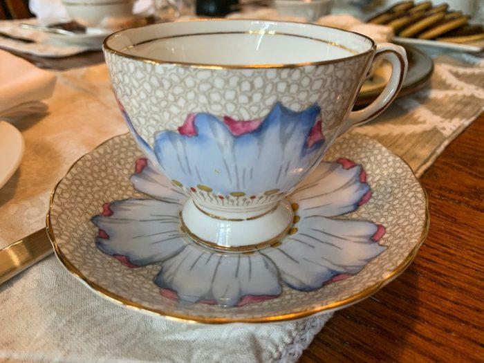 Sylvia's teacups