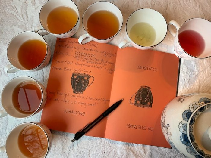 tasting notes of Babingtons teas
