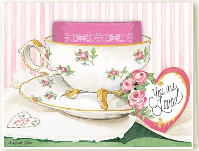 Kimberly Shaw Tea Cup Cards