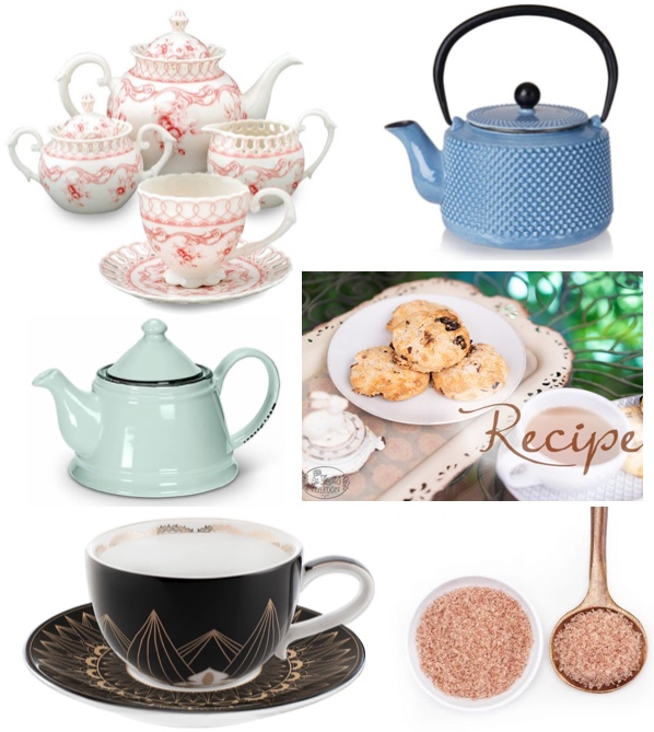 online tea party shopping