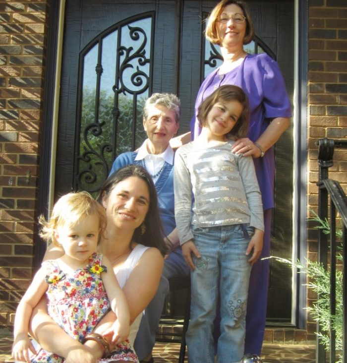 mothers on the stoop