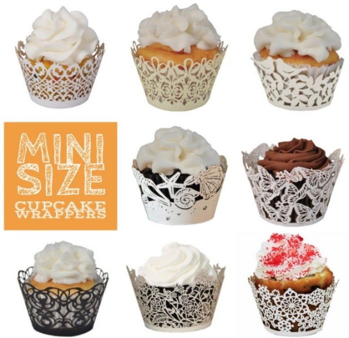 cupcake paper wrappers by L'Amour Designs
