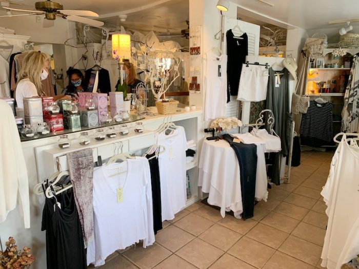 boutique at amuse bouche at afternoon tea at Ashes' Boutique and Tea Garden