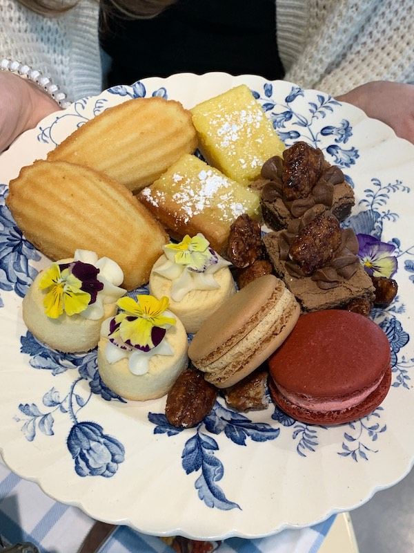 desserts at Dreamcakes Cafe in Hoover, AL for afternoon tea