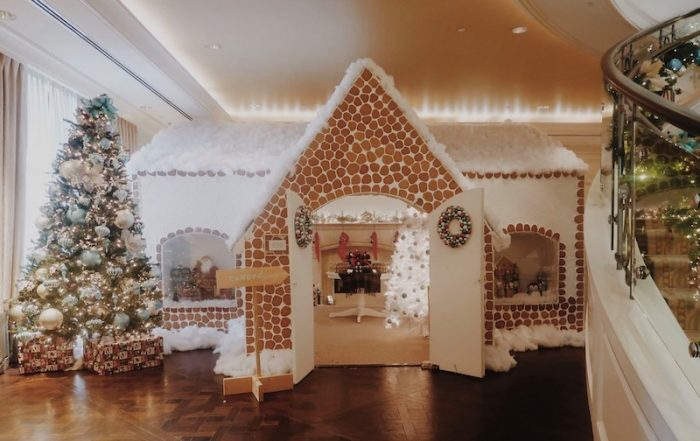St. Regis Atlanta Gingerbread House for Private Afternoon Tea with Santa