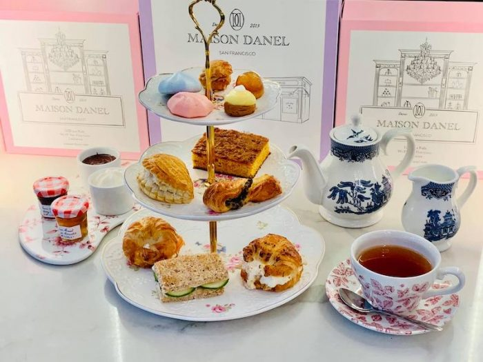Maison Danel in San Francisco offers afternoon tea to go